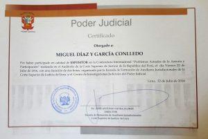 Certificado conferencia Corte Suprema (Lima, 22-07-2016) 2 (1)